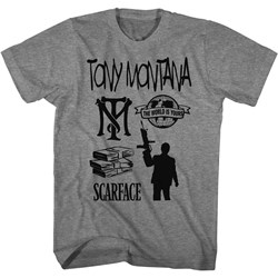 Scarface - Mens Tomymontana&Friends T-Shirt