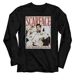 Scarface - Mens Always Long Sleeve T-Shirt
