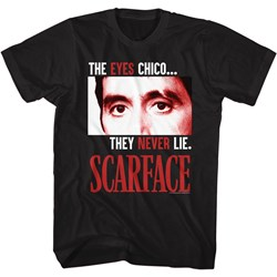 Scarface - Mens The Eyes Never Lie T-Shirt