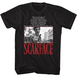 Scarface - Mens American Dream Quote T-Shirt