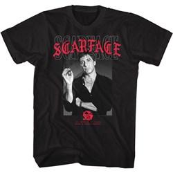 Scarface - Mens Text Layering 2 T-Shirt