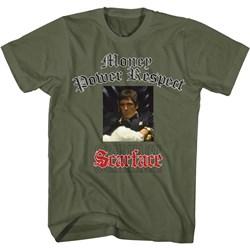 Scarface - Mens Glitterlogo T-Shirt