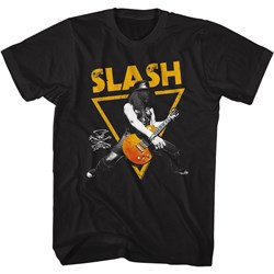 Slash - Mens Gold Triangle T-Shirt