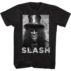 Slash - Mens Portrait Name T-Shirt