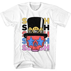 Slash - Mens Slash Skull & Hat T-Shirt