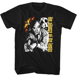 Silence Of The Lambs - Mens Buffalo Bill Collage T-Shirt