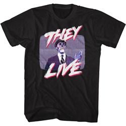 They Live - Mens Politician'S Speech T-Shirt