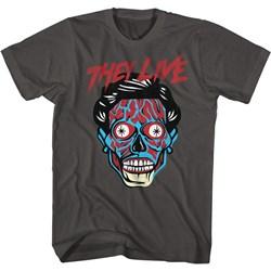 They Live - Mens Alien Head T-Shirt