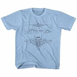 Top Gun - Toddler Technicolor T-Shirt