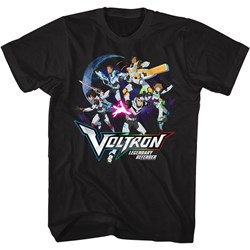 Voltron - Mens Defender Group In Space T-Shirt
