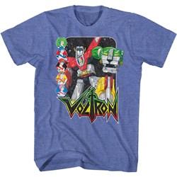 Voltron - Mens Voltron & Pilots T-Shirt