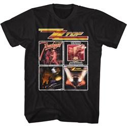 Zz Top - Mens Top Albums T-Shirt
