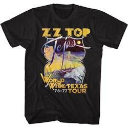 Zz Top - Mens Tejas Tour T-Shirt