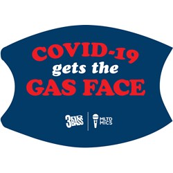 3rd Bass - Unisex Covid 19 Gets Gas Face Mask