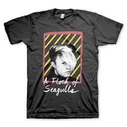 A Flock Of Seagulls - Mens Flock Neon  T-Shirt