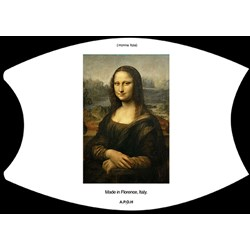 APOH - Unisex Mona Lisa Mask