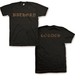 Bathory - Mens Hordes T-Shirt