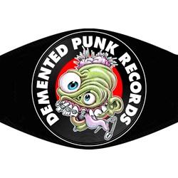 Demented Punk - Unisex Demented Punk Records Mask