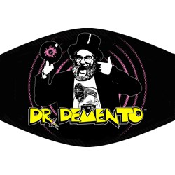 Dr Demento  - Unisex Dr Demento  Mask