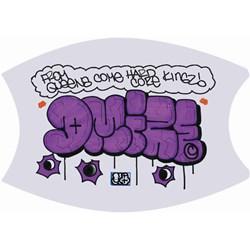 Graffiti Hardcore - Unisex Dmize MQ Mask