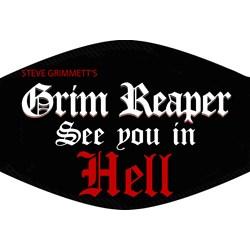 Grim Reaper - Unisex Grim Reaper  Mask