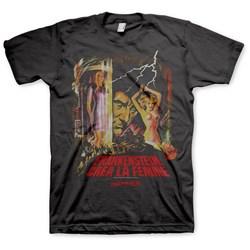 Hammer Horror - Mens Frankenstein T-Shirt