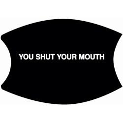 Morrissey - Unisex Shut Your Mouth Mask