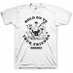 Morrissey - Mens Hold On To Your Friends T-Shirt