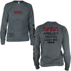 NASA - Mens Apollo 11 Long Sleeve Shirt
