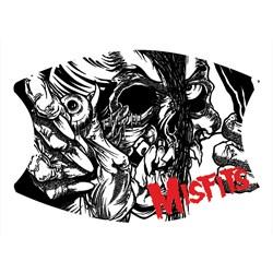 The Misfits - Unisex Misfits Eyeball Logo Mask
