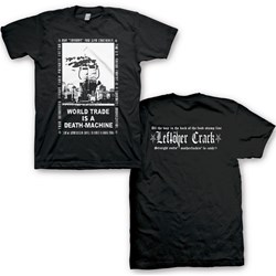 Leftover Crack - Mens Leftover Crack World Trade  T-Shirt