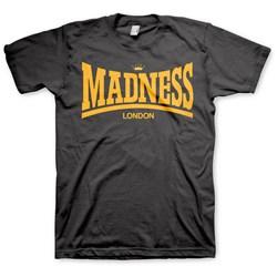 Madness - Mens Madsdale Gold Print T-Shirt