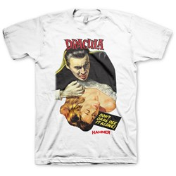 Hammer Horror - Mens Dracula T-Shirt