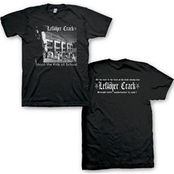 Leftover Crack - Mens Leftover Crack Shoot the Kids  T-Shirt