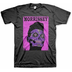 Morrissey - Mens Day of the Dead Pink T-Shirt