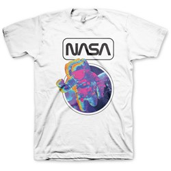NASA - Mens Rainbow Astronaut T-Shirt