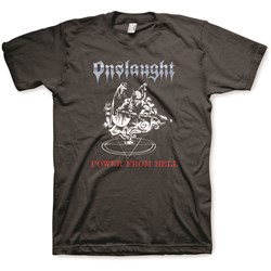 Onslaught - Mens Power from Hell T-Shirt