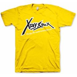 X-Ray Spex - Mens XRS Logo Yellow  T-Shirt