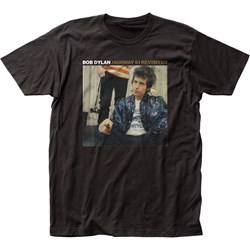 Bob Dylan - Unisex Highway 61 Revisited Fitted Jersey T-Shirt