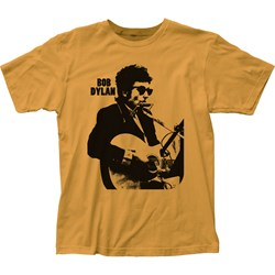 Bob Dylan - Unisex Silhouette Fitted Jersey T-Shirt