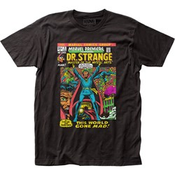 Dr. Strange - Unisex Let Magic Reign Fitted Jersey T-Shirt