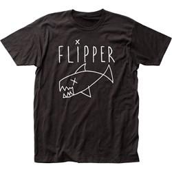 Flipper - Unisex Logo Fitted Jersey T-Shirt