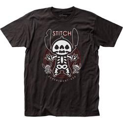 Lilo & Stitch - Unisex X-Ray Fitted Jersey T-Shirt