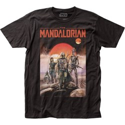 The Mandalorian - Unisex Poster Fitted Jersey T-Shirt
