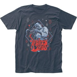 Miles Davis - Unisex Illustration Fitted Jersey T-Shirt