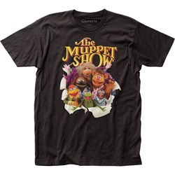 The Muppets - Unisex Muppets Breakout Fitted Jersey T-Shirt