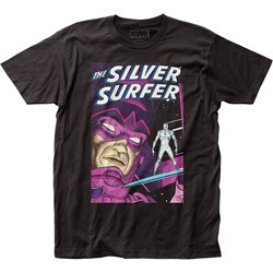 Silver Surfer - Unisex Parable Fitted Jersey T-Shirt