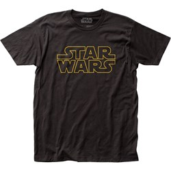 Star Wars - Unisex Logo Fitted Jersey T-Shirt