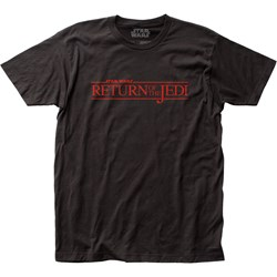 Star Wars - Unisex Return Of The Jedi Logo Fitted Jersey T-Shirt