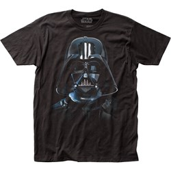 Star Wars - Unisex Vader Mask Fitted Jersey T-Shirt
